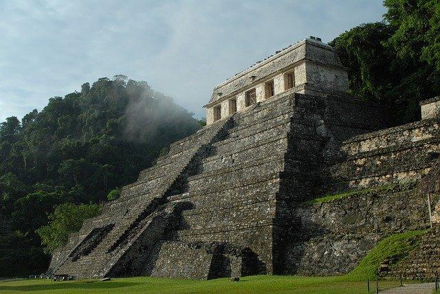 Пирамида Майя цивилизация фото