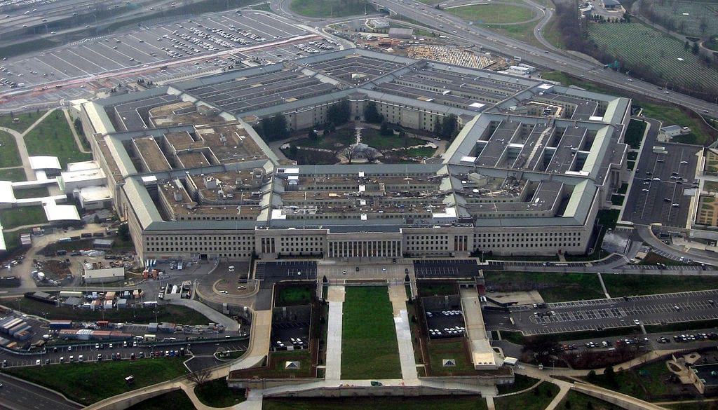 Пентагон минобороны США фото