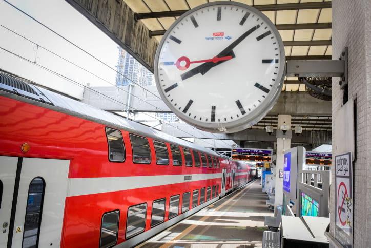 Поезда Израиль фото