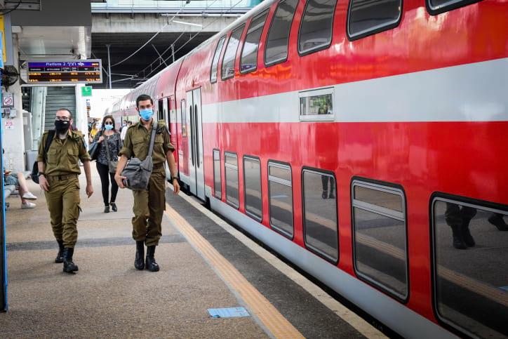 поезд израиль фото