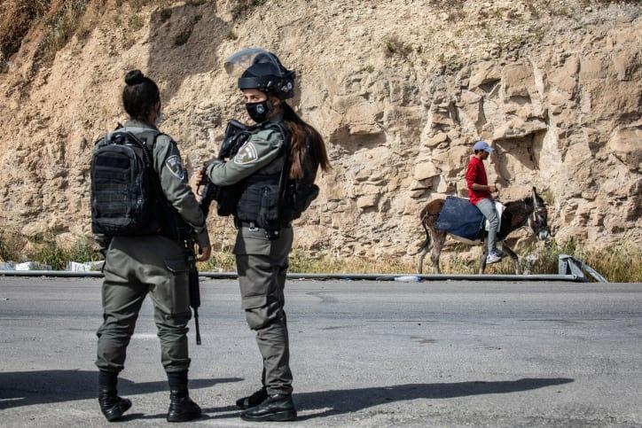 пограничная полиция израиль фото