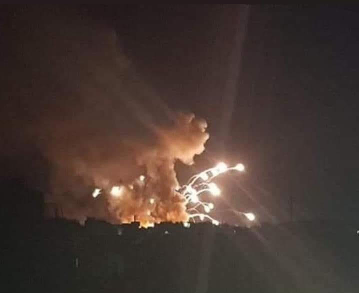 Предполагаемые израильские атаки по Сирии фото
