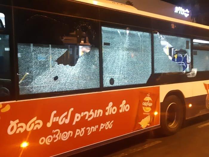 атака на автобус фото