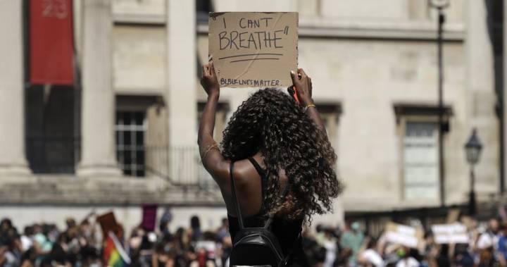 протесты в США фото