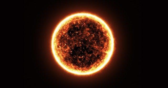 Солнце планета фото