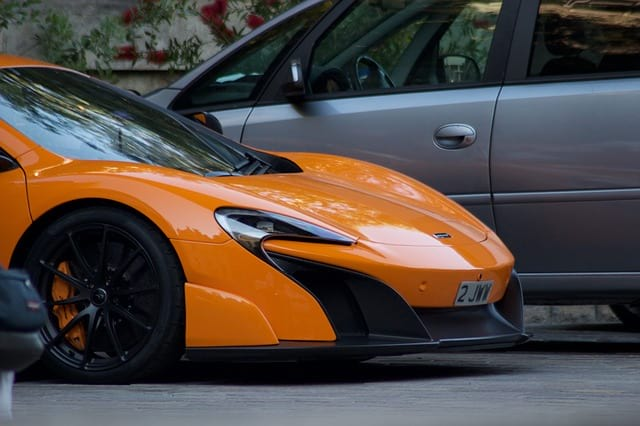 Superkar McLaren