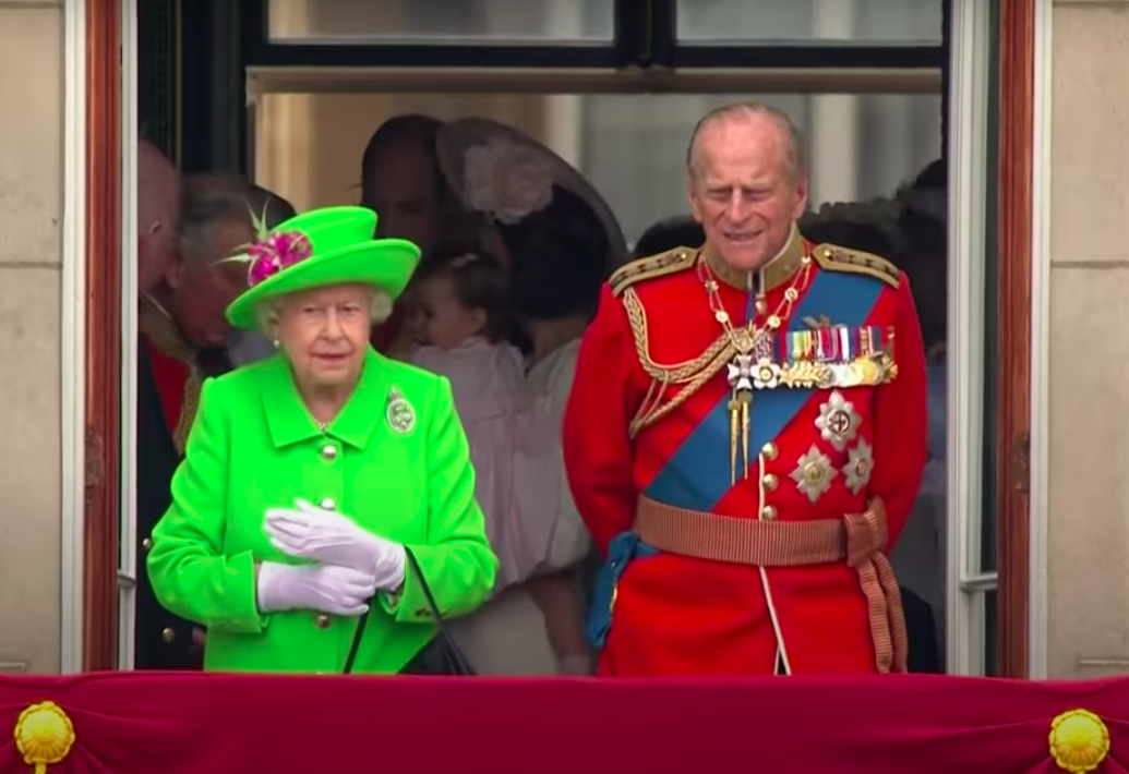 принц Филипп королева Елизавета фото