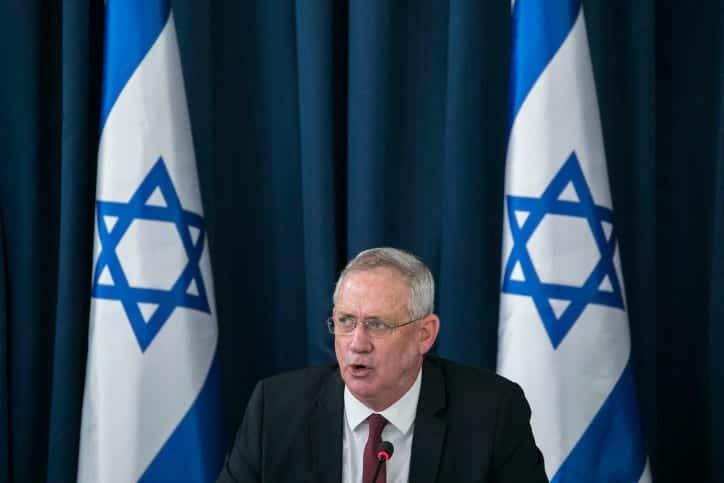 министр обороны, вице-премьер министр Бени Ганц Израиль фото