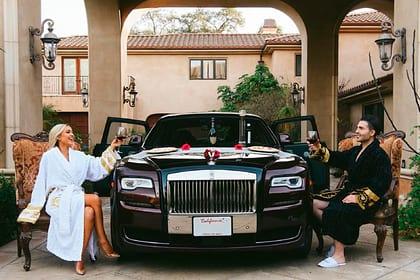 богатые люди фото