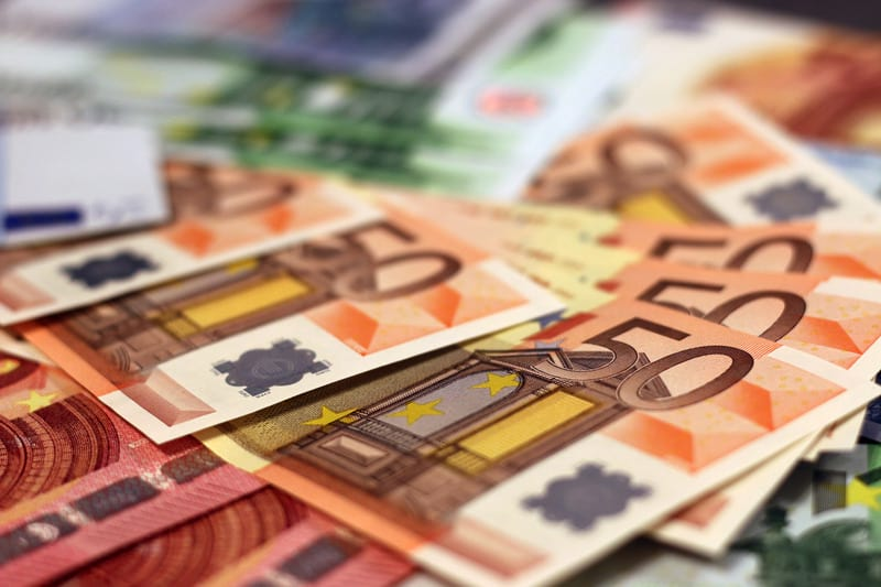 Евро деньги фото