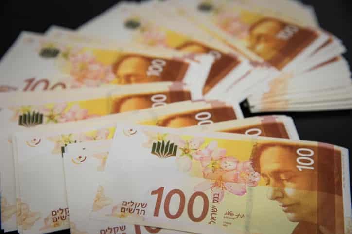 Шекель валюта Израиль фото