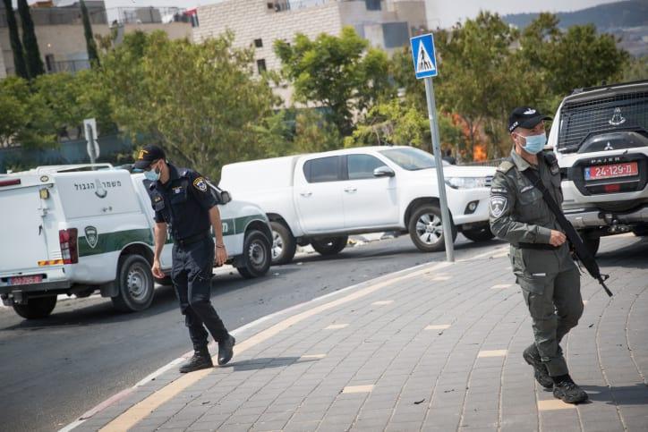 Izrailskie politsejskie