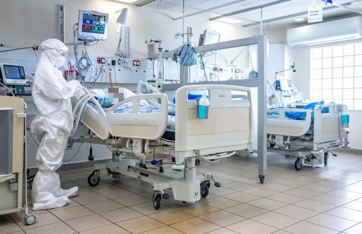 Коронавирус Израиль больница фото