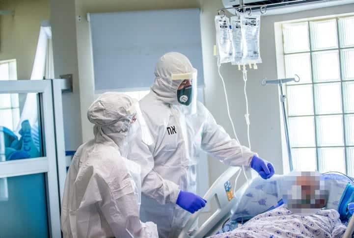 медики Израиль коронавирус больница фото