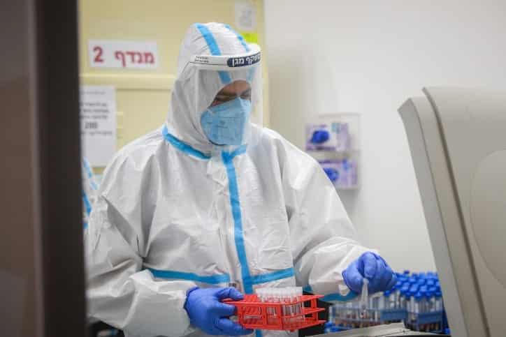 Коронавирус Израиль фото