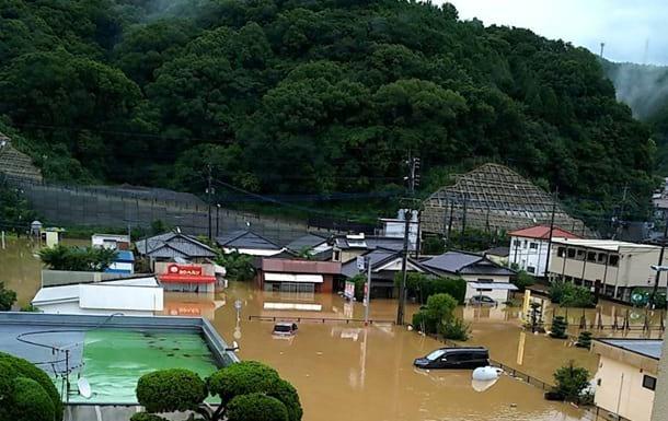 Ливни и наводнения фото