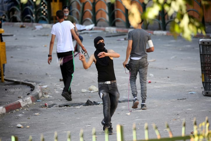 Беспорядки в Хевроне фото