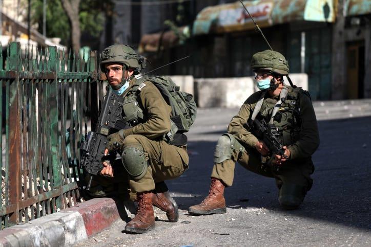 Palestintsy ustroili besporyadki v Hevrone 9