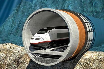 подводный тоннель фото