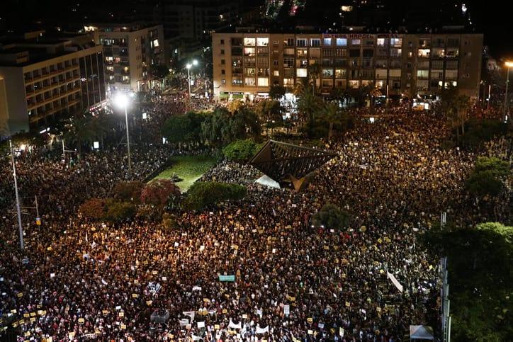 Protest predprinimatelej v Tel Avive 3