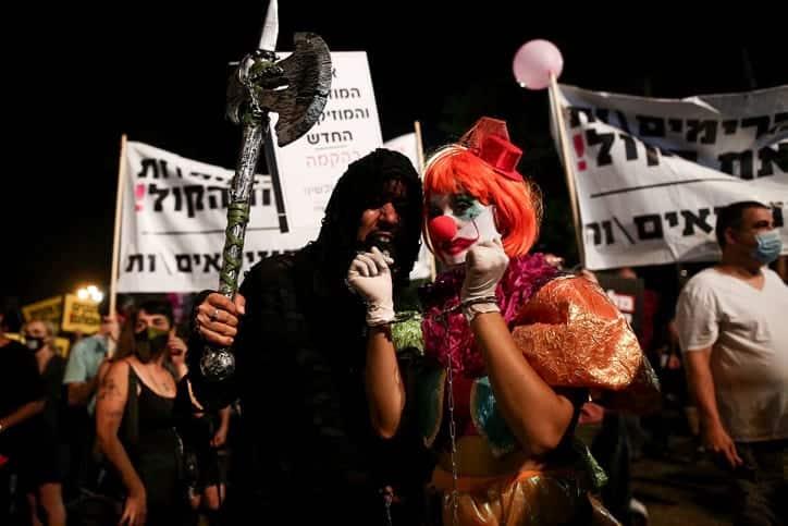 Protest predprinimatelej v Tel Avive 5