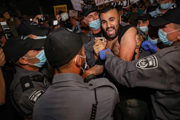 Protesty protiv Netaniyagu 2