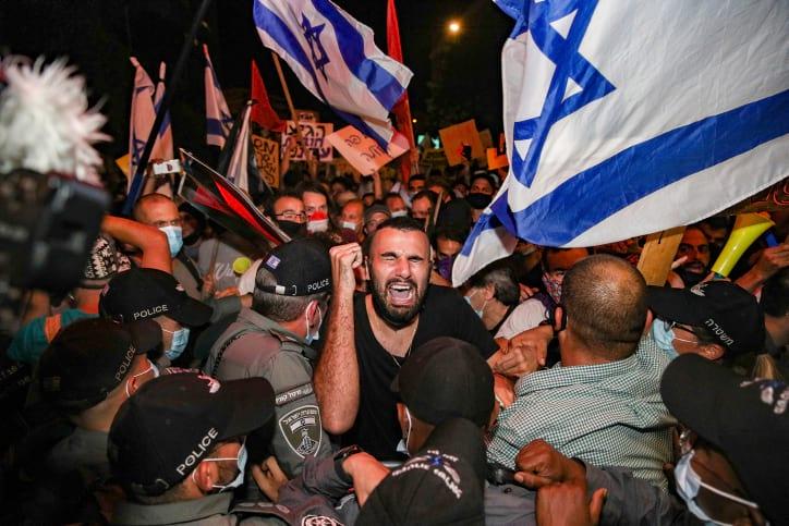 Protesty protiv Netaniyagu 3