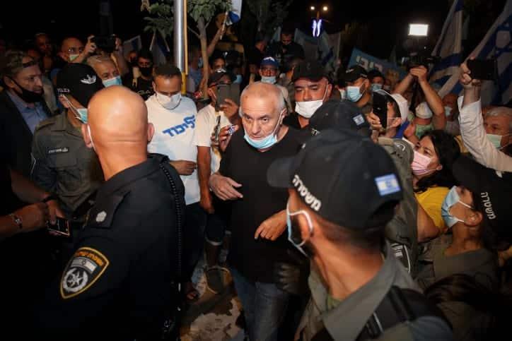 Protesty u rezidentsii Netaniyagu 3 1