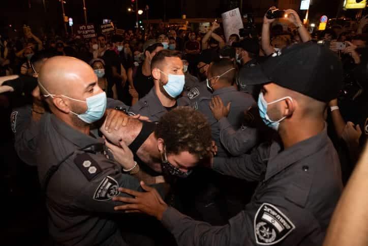 Protesty v Ierusalime 6