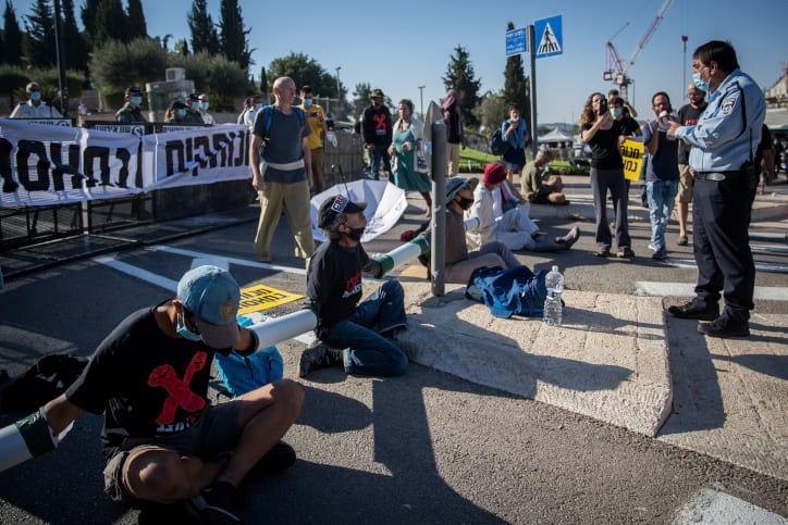 Protesty v Izraile