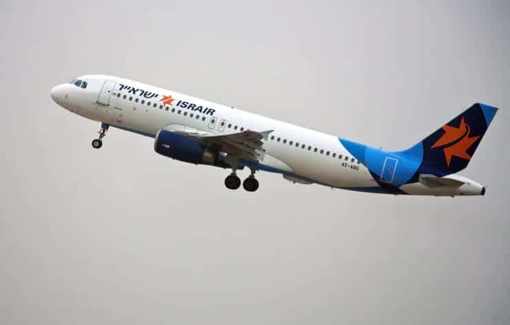 Самолет Israir фото