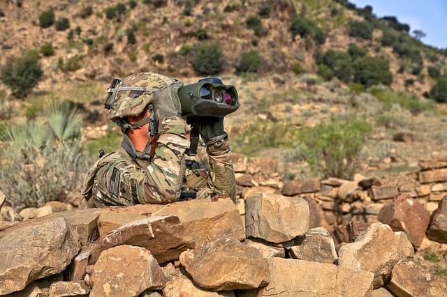 военный США фото