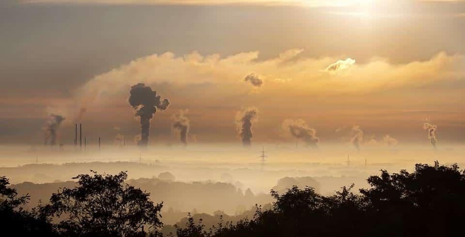 Вредные выбросы промышленности фото