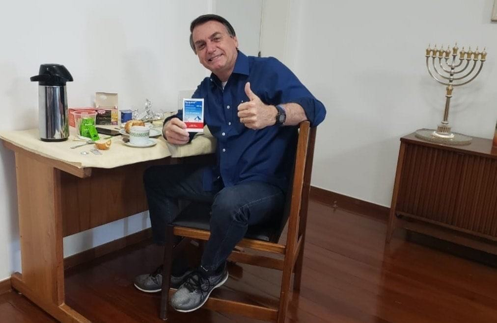 президент Бразилии Жаир Болсонару фото