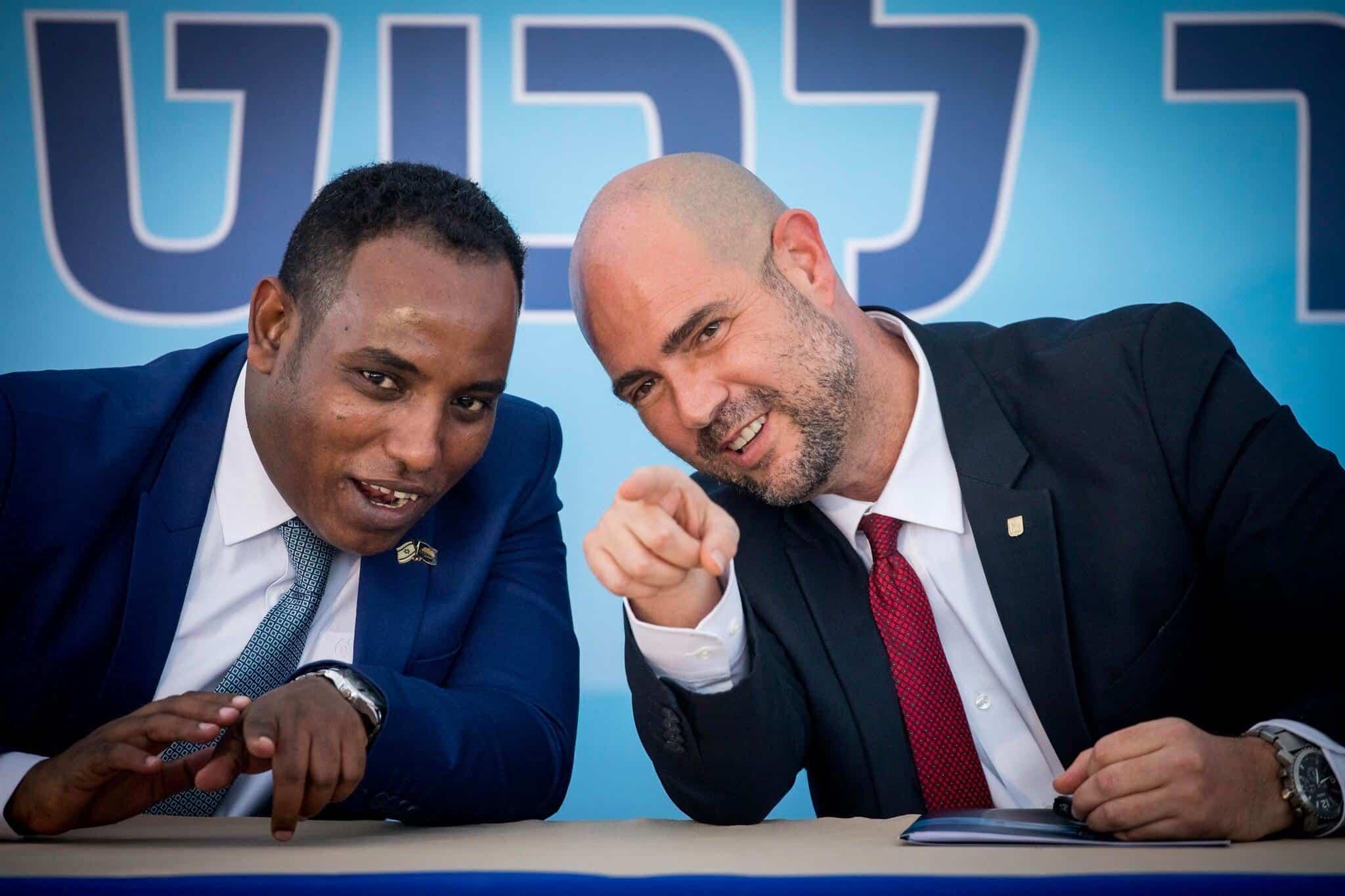 Amir Ohana i Gadi Evarkan