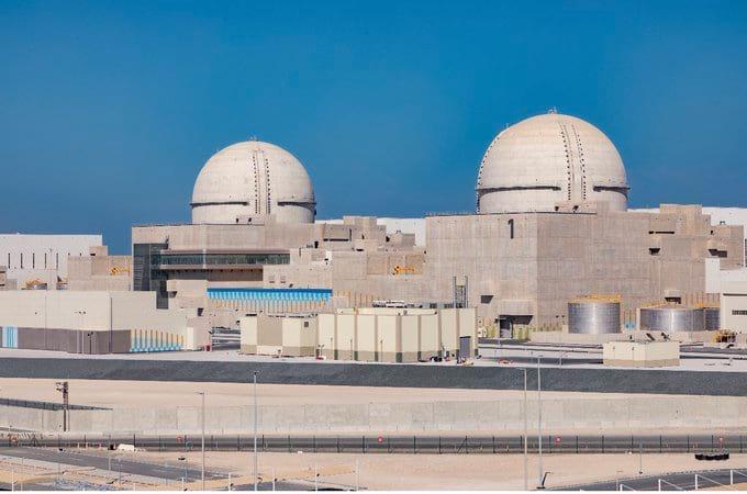 Атомная электростанция в ОАЭ фото