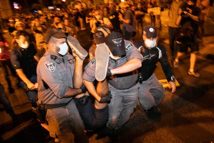 Demonstratsii v Ierusalime 5