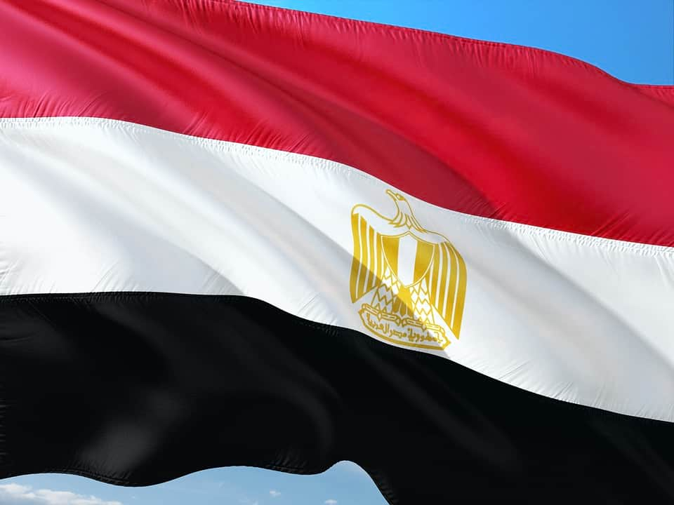 Флаг Египта фото