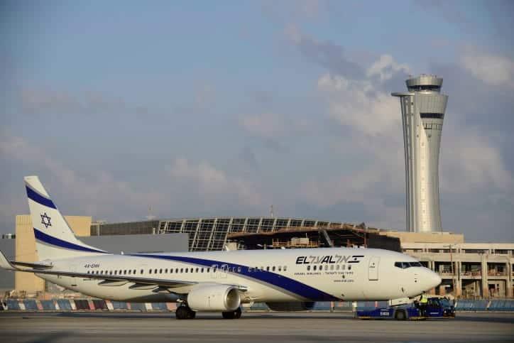 Самолет «Эль-Аль» фото