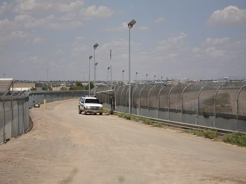 Граница США с Мексикой фото