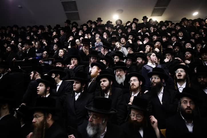 Хасиды Израиль фото