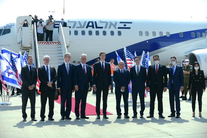 Izrailsko amerikanskaya delegatsiya 4