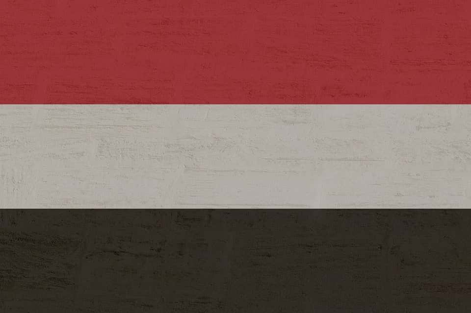 йемен флаг фото
