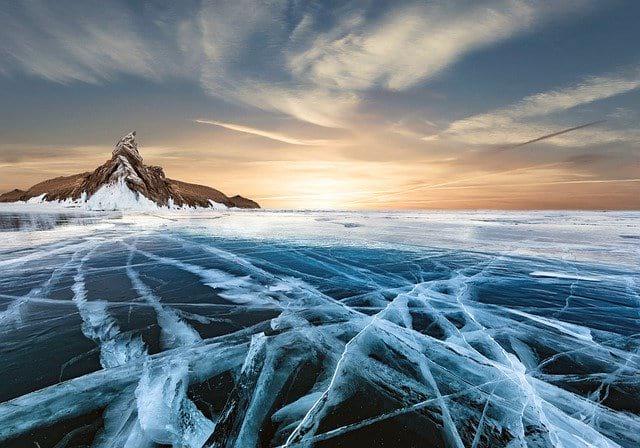 Ледники рассвет горы фото