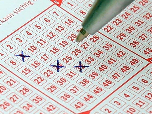цифры в лотерейном билете картинка