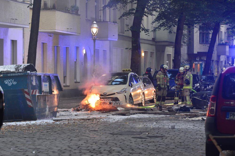 Поджог в Берлине