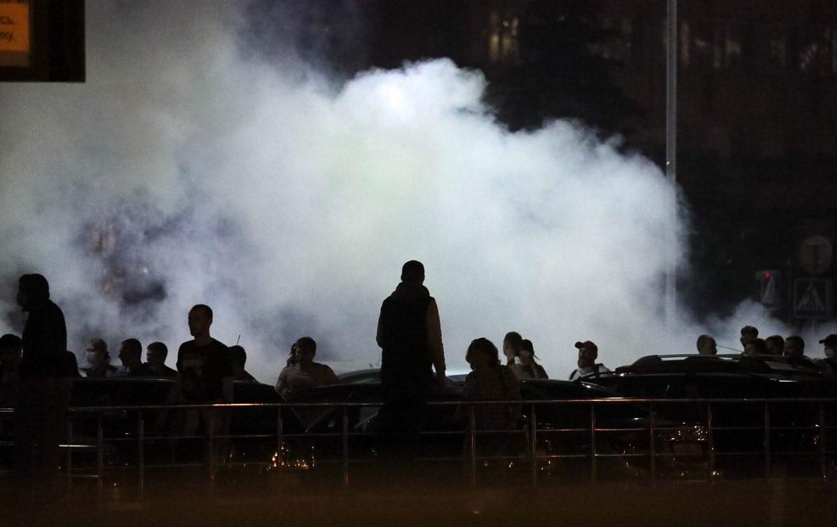 протесты фото