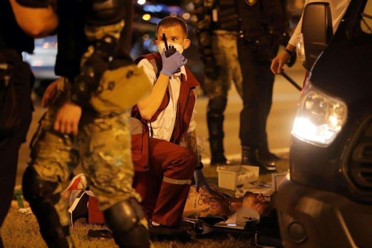 протесты беларусь минск фото