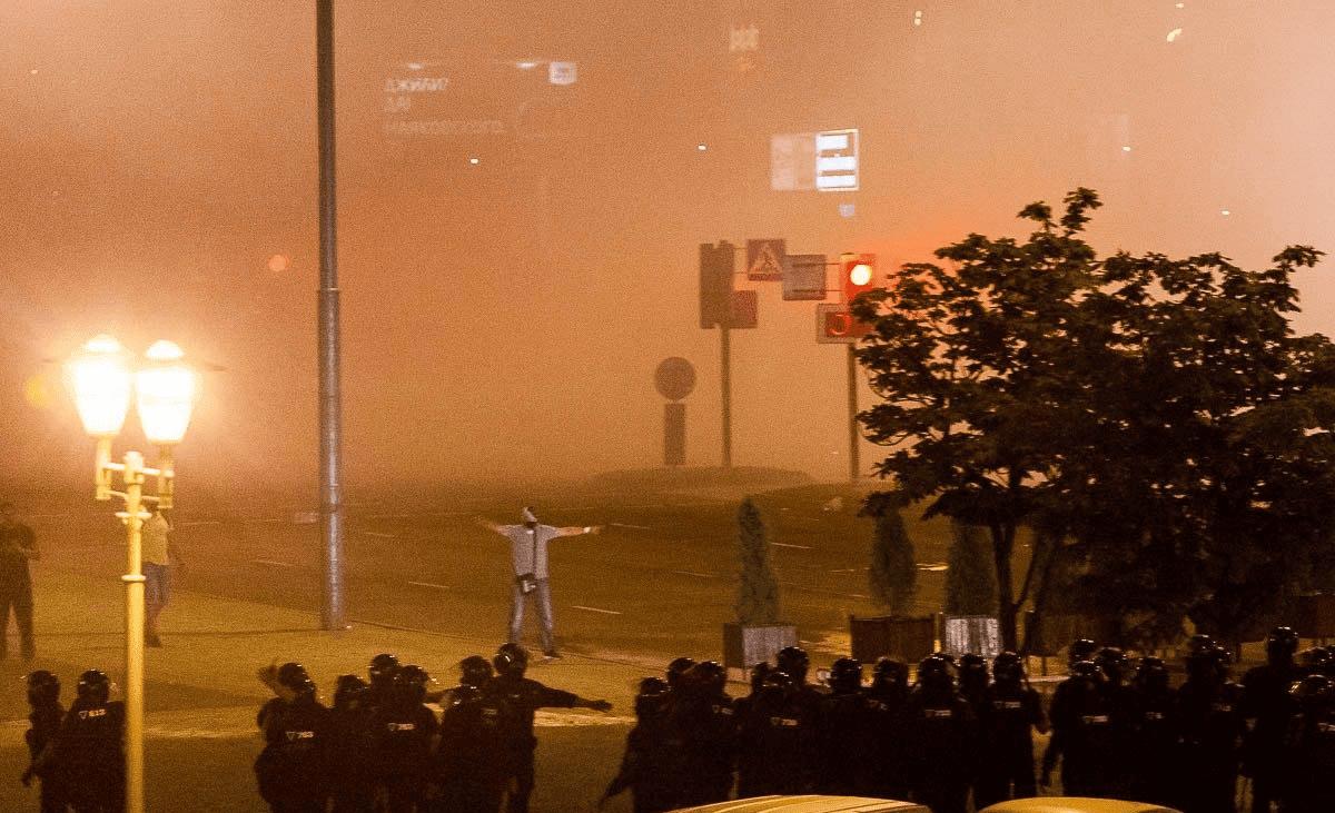 Протесты в Беларуси фото
