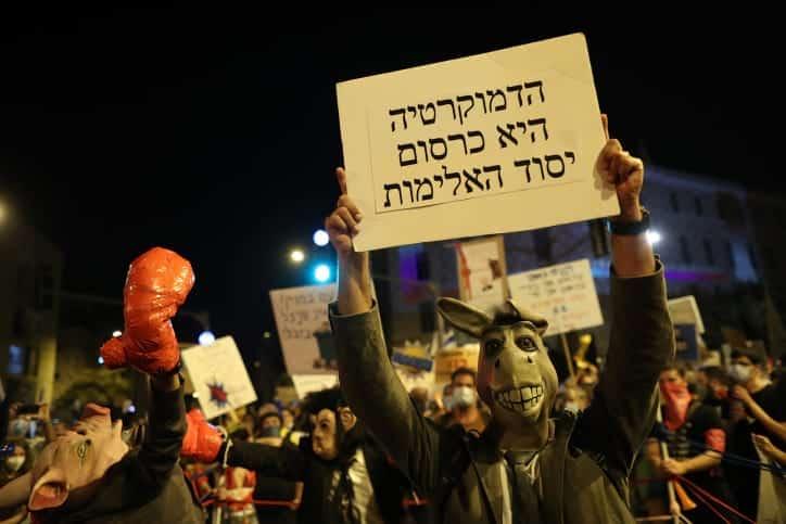 Protesty v Ierusalime 3 1